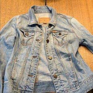 Hollister light denim jacket